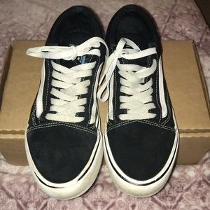 Well loved Vans in good condition